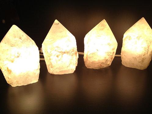 Authentic Rough Quartz Lamp
