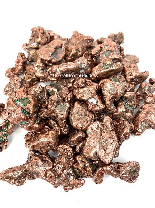 Copper Nuggets Rough Natural