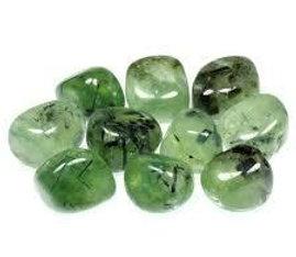 Prehnite Epidote Tumbled Stone