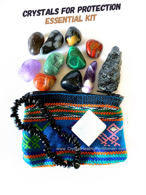 Crystals For Protection The Essential Kit
