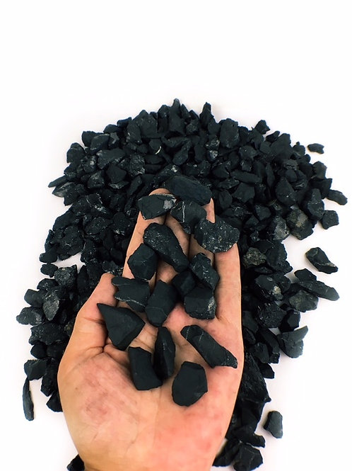 Shungite Chips Rough Natural Small Size
