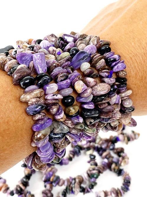 Charoite Stone Bracelets