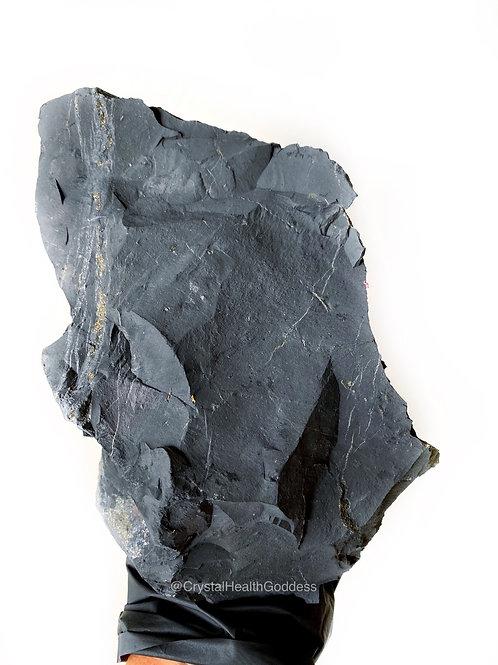 Shungite Rough Stone Jumbo Huge Size 4.5 Lb