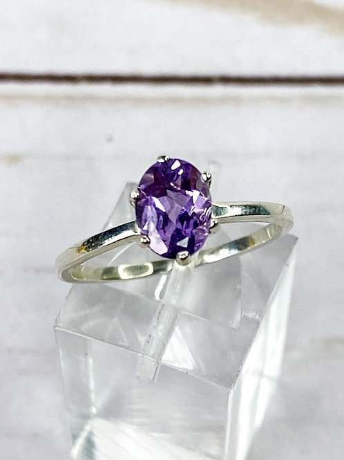 Amethyst Engagement Ring Size 8.25