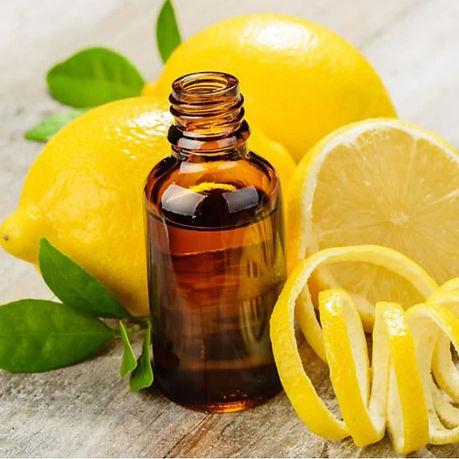 lemon oil for skincare