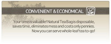 natural tea bags, empty tea bags, fill in tea bags,