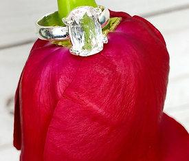 Danburite Engagement Ring Size 8