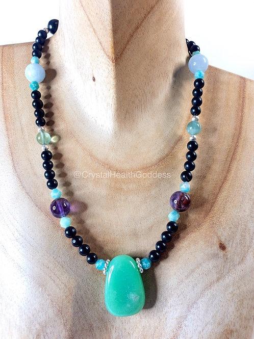 Shungite Necklace Collection Design #5