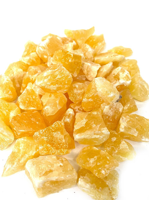 Calcite Orange Rough Natural