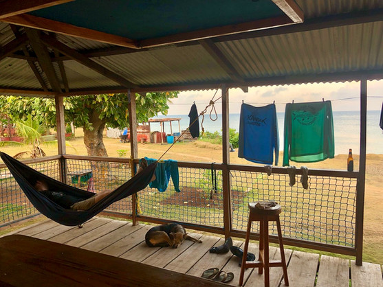 Nap Time - Little Corn Camp