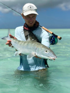 Almost missed the ferry back - Bonefish Camp