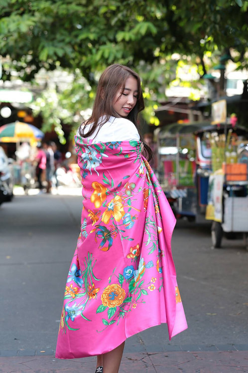 Polyester scarf - Street collection 14