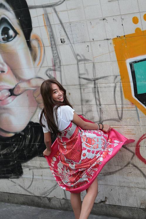 Diamond is women best friend (Pink) - Street Scarf collection