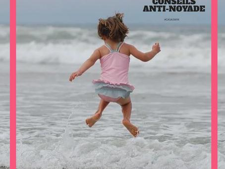 Nos 10 conseils anti-noyade