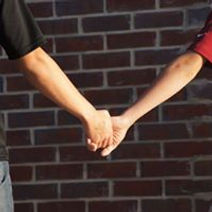 Canton private Christian school students holding hands