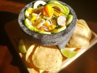 Aguachiles Mango-Habanero de Camaron