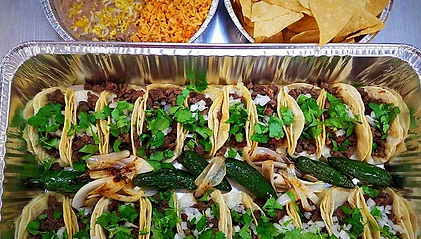 Don Chuy's Taco Shop |  Catering