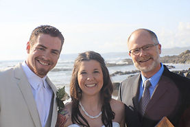 Morro Bay Beach Wedding, Paul Howell, Officiant