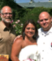 Paul Howell, Wedding Officiant, Cambria Pines Lodge