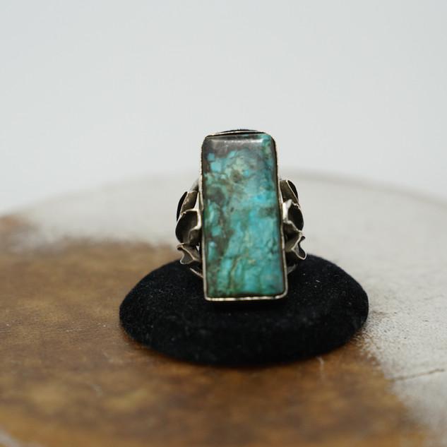 Custom Royston Turquoise Ring