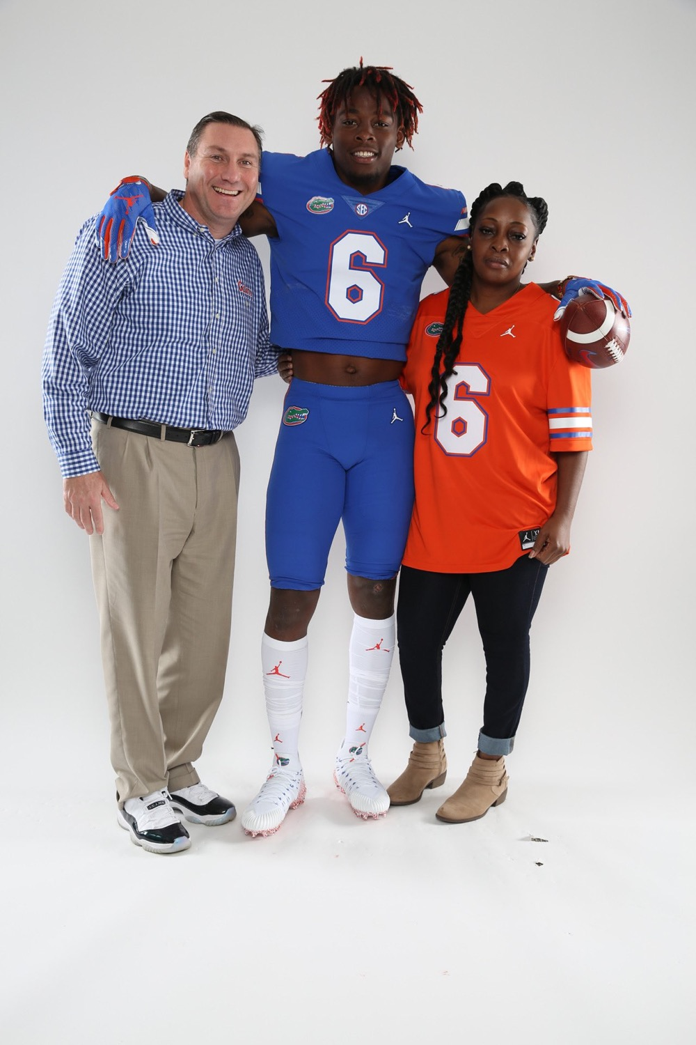 Dan Mullen and Diwun Black have had each other's back since day one. Courtesy of Black's Twitter