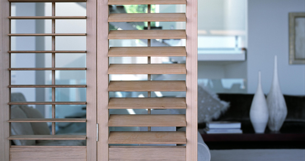 Solid Timber Shutters