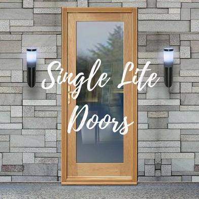 Single Lite Door Rejuvenation