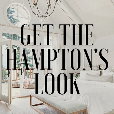 HOW TO GET THE HAMPTON'S LOOK!