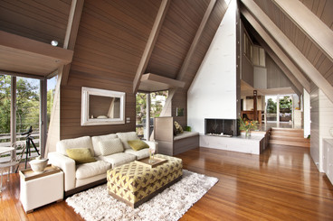 Turning Timber Floors into a Wall Feature