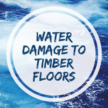 Water Danger to Engineered Timber Floors
