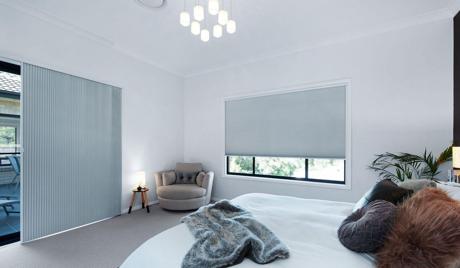 Interior Blinds - Honeycomb Slider & Window Roller