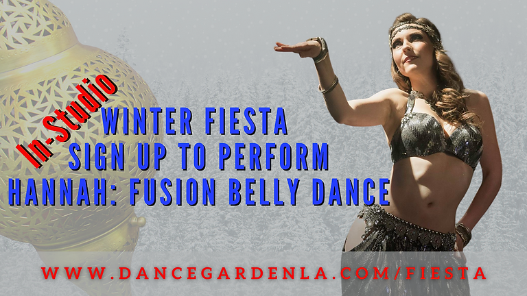 (In-Person) Hannah Lily: Fusion Bellydance