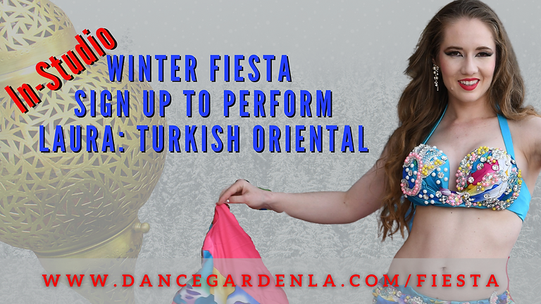(In-Person) Laura: Turkish Oriental