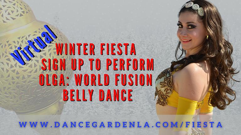 (Virtual) Olga World Fusion Bellydance
