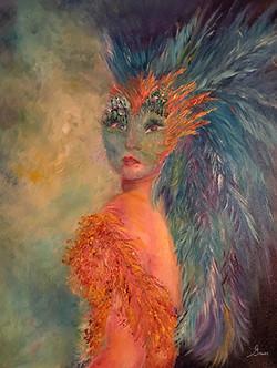Bird woman by Greer Jonas