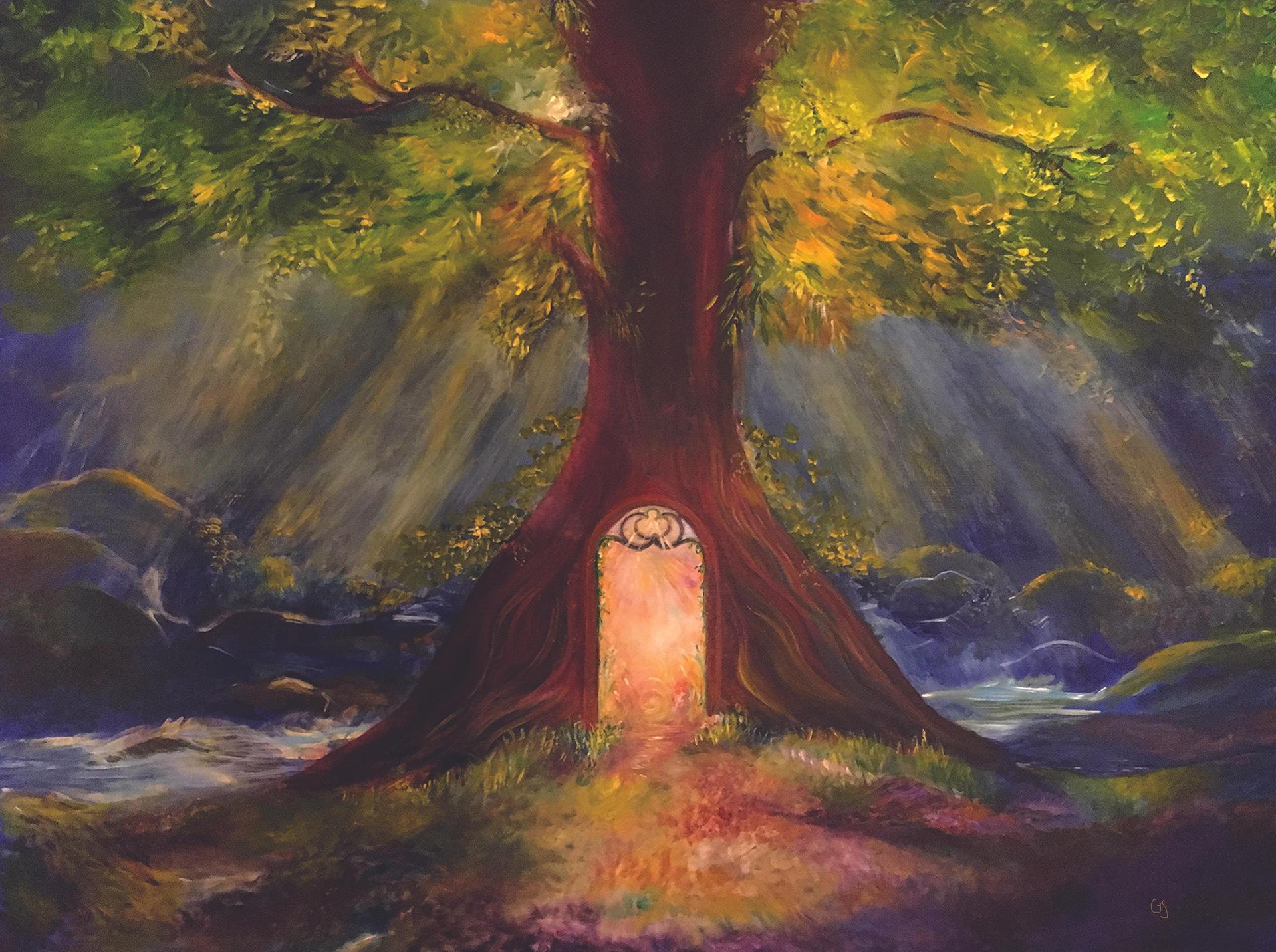 Divine Portal (Sale Price = $1850)