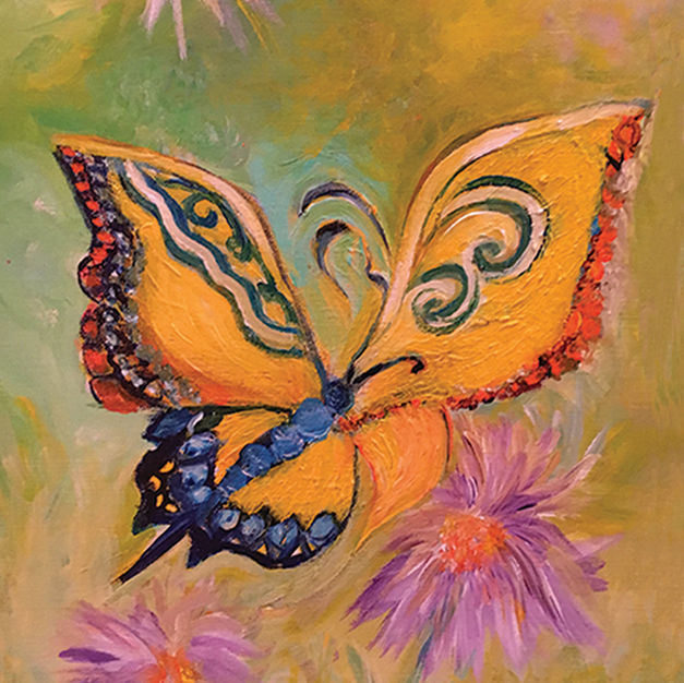 """""""Butterfly"""" Sales Price =$350"""