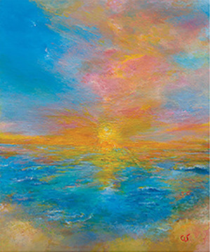 Divine Sunrise Greeting Card