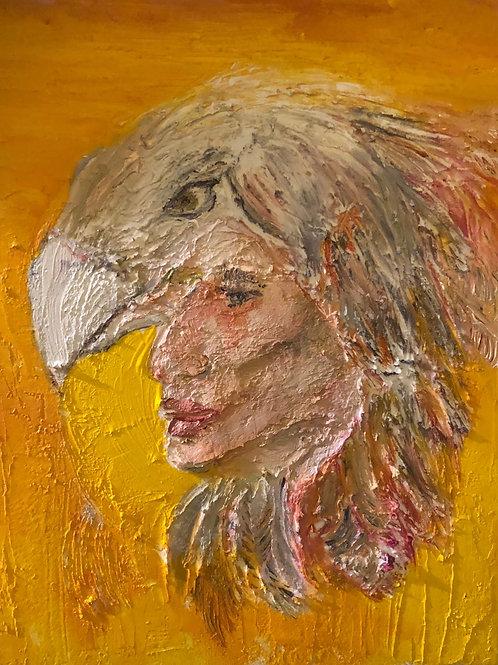 Shaman Eagle Painting