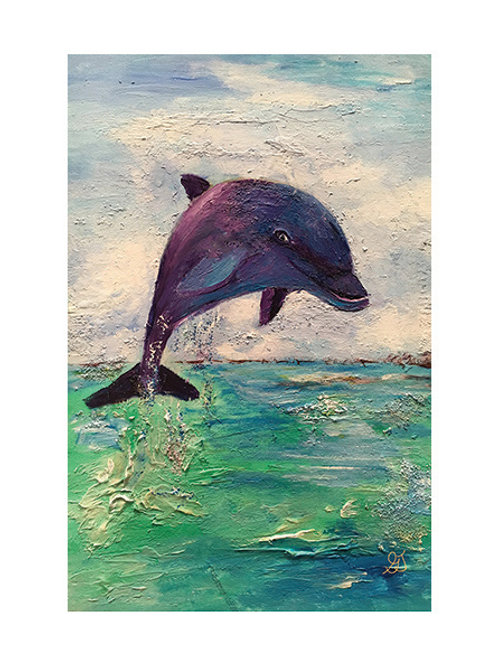 Dolphin print*