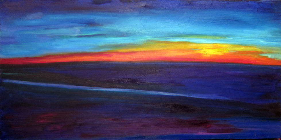 Sunset skies = (for Sale $550)