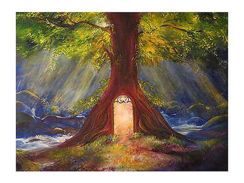 Divine Portal Painting