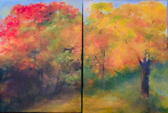 """""""Autumn Upstate"""" compilation (for Sale= $750"""