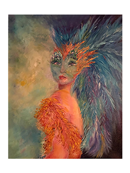 Bird Woman Print*