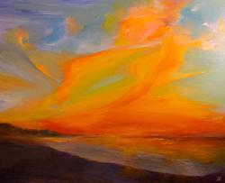 """Lion In the Sky"" * by Greer Jonas"