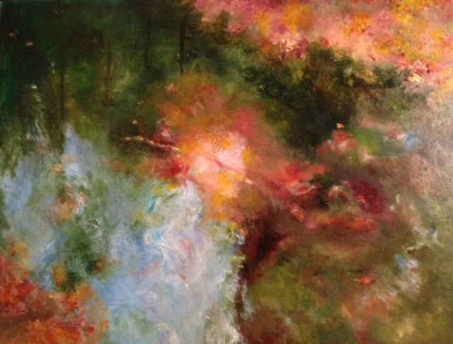 Autumn Reflection in Beckett