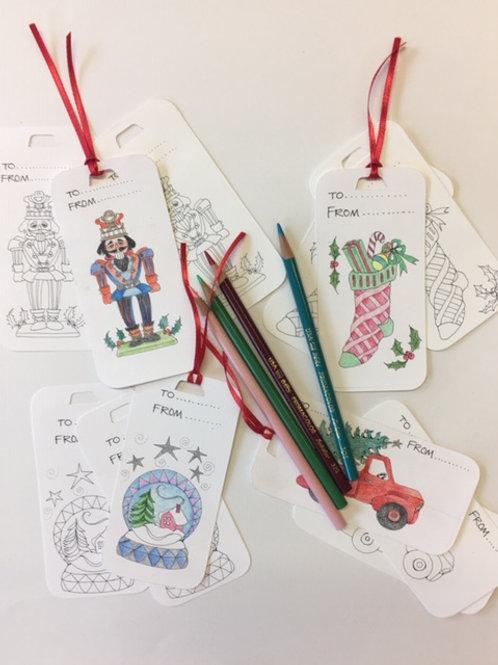 CYO Holiday Gift Tags