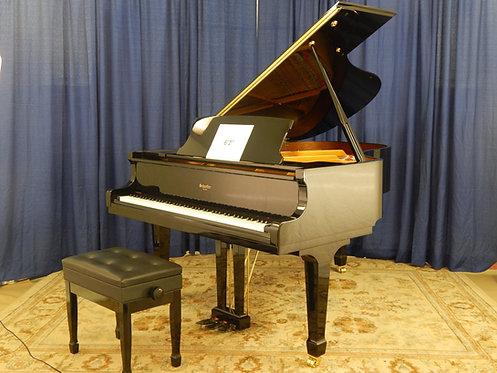 Schaeffer 188 Ebony Polished Grand Piano 6′ 1″