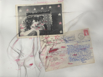 CANNES KISSES  1978:2020 - 29 x 39 cm -