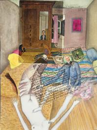 LA CASITA 1977:2020 - 23 x 31 cm - mixed